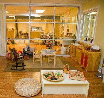 #Reggio emilia inspired pre school space