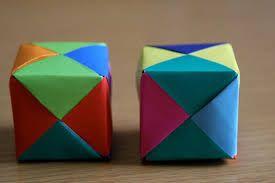 Resultado de imagem para como fazer um caixinha de papel