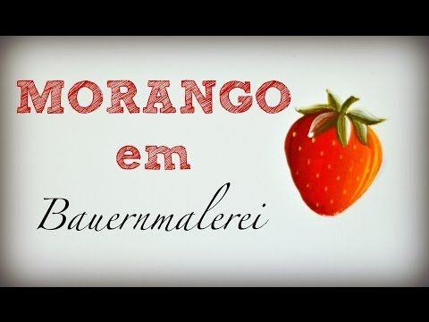 Morango em Bauernmalerei - YouTube