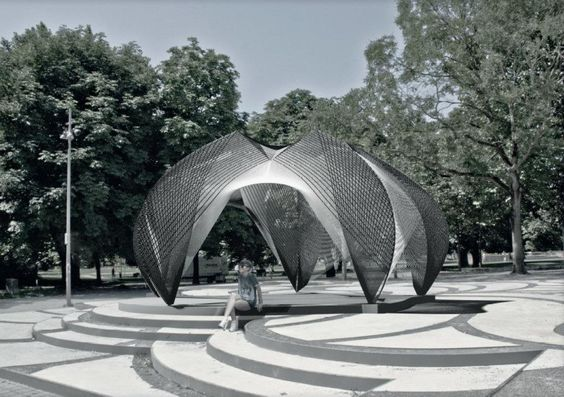 ICD-ITKE Research Pavilion 2012