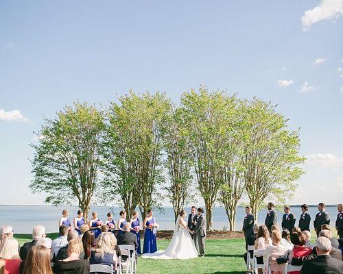 Art Deco Glam Wedding With Big Brass Band Yacht Wedding Coastal
