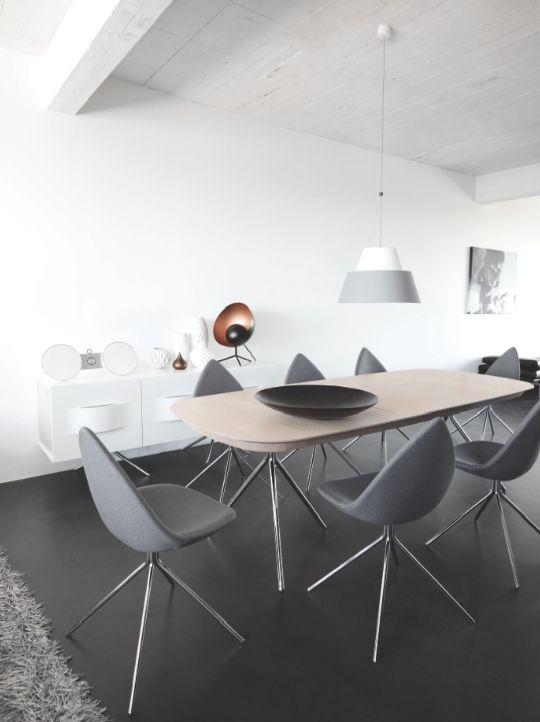 International awarded ottawa dining table designed by karim rashid sala de jantar decor - Tafel boconcept ...