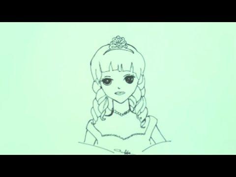 رسم سهل تعليم رسم بنت بقلم الرصاص خطوة بخطوة رسم بنات كيوت تعلم الرسم Youtube Art Female Sketch Female