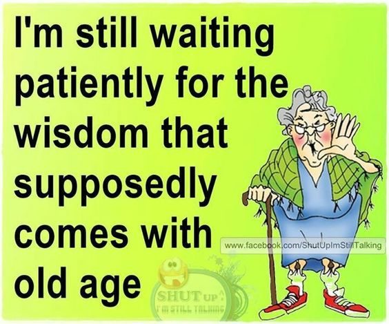 Wisdom Of The Aged Ages Age Quotes Funny Aging Quotes Funny Funny Women Quotes