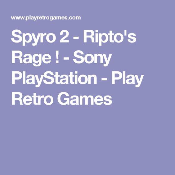 Spyro 2 - Ripto's Rage ! - Sony PlayStation - Play Retro Games