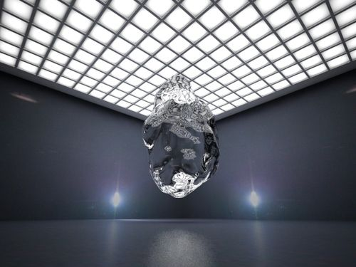 Kari Altmann - How to Hide Your Plasma (Handheld Icon Shapeshift for Liquid Chrystal Display), 2010