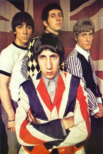 Original mods ,The Who in all their regalia.