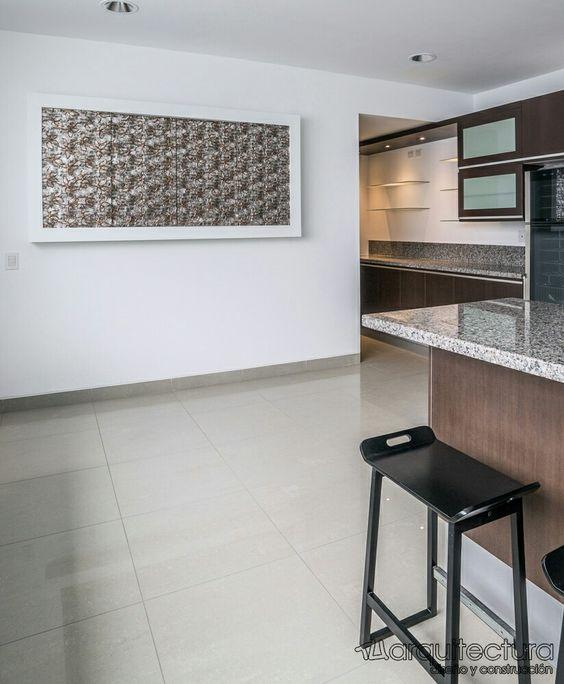 arquitectura#interiores#diseño#remodelación#cocina#cuadromural#tv ...