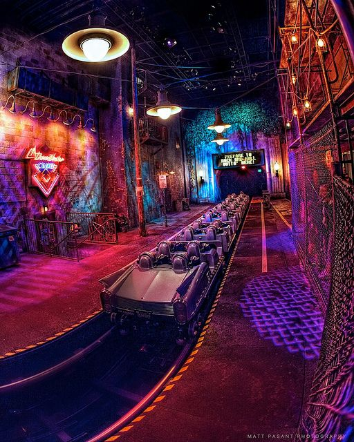 Rock N' Rollercoaster at Disney's Hollywood Studios.