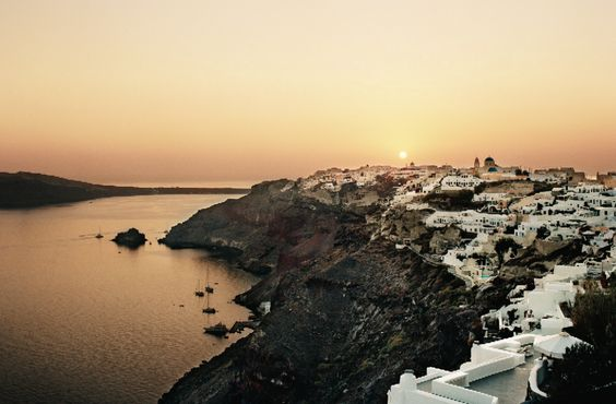 If there were ever a place that could get by on its looks, it would be Santorini.