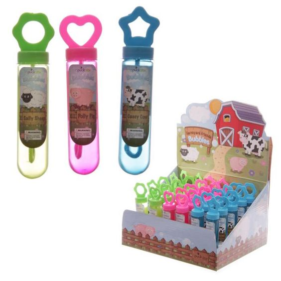 TY457 - Bolle di Sapone- Allegra Fattoria   Puckator IT #partybag #kid #idee #compleanno #bambini