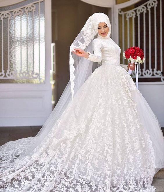 Hijab Wedding: Wedding dresses - Bruidsjurken