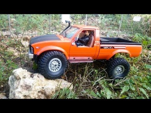 Wpl C24 Toyota Hilux Custom Build Rc Truck 4x4 Scale 1 16 Toyota Hilux Rc Trucks Trucks