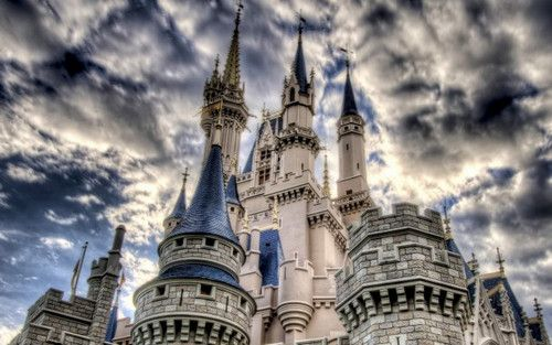Disney World Castle i hope to see this for myself one day