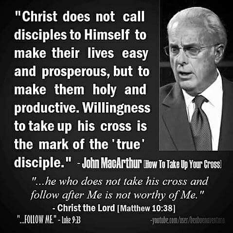 John F. MacArthur, Jr. (born June 19, 1939) is a pastor and author known for his internationally syndicated radio program Grace to You. He has been the pastor-teacher of Grace Community Church in Los Angeles, Ca since February 9, 1969. Theologically, MacArthur is considered a Calvinist, and a strong proponent of expository preaching. He has authored or edited more than 150 books, most notably the MacArthur Study Bible, which has sold more than 1 million copies (Gold Medallion Book Award).