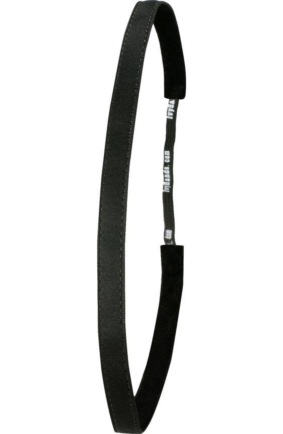 Anti Rutsch Haarband Black Super Thin 003