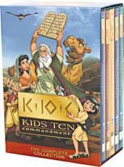 Kids Ten Commandments 5-DVD Set |     The award-winning Kids' Ten Commandments series includes great Bible lessons for kids! | NestLearning.com