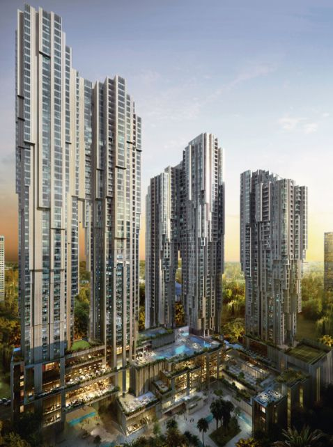 Platinum park kuala lumpur malaysia slender 60 for Architecture design company in malaysia