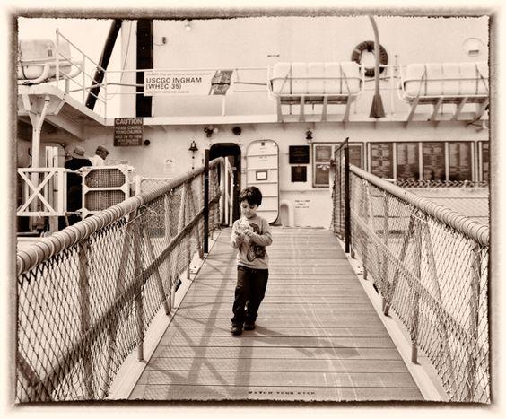 On a boat | Fuji GF670 (film) | #jhunterphoto