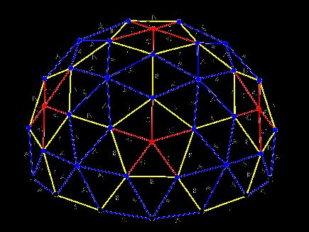 3v Geodesic Dome Calculator Includes Estimated Building