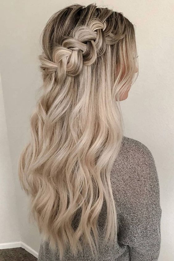 33 Hottest Bridesmaids Hairstyles For Short Long In 2020 Bridesmaid Hair Long Braids For Long Hair Hair Styles