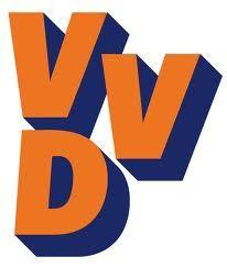 Waarden van de VVD zijn vrijheid, verantwoordelijkheid, verdraagzaamheid, sociale rechtvaardigheid en gelijkwaardigheid van mensen.