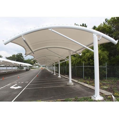 Pyramid Dome Pvc Stainless Steel High Quality Car Park Shades Car Park Design Park Shade Parking Design