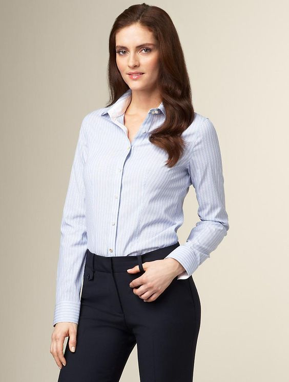 Collared Shirt with Dress Pants - Business Casual: Identifying as ...