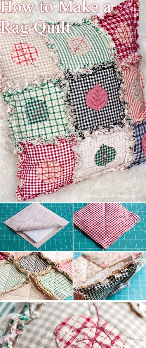 How To Make A Rag Quilt Rag Quilt Tutorial Rag Quilt Sewing Projects For Beginners