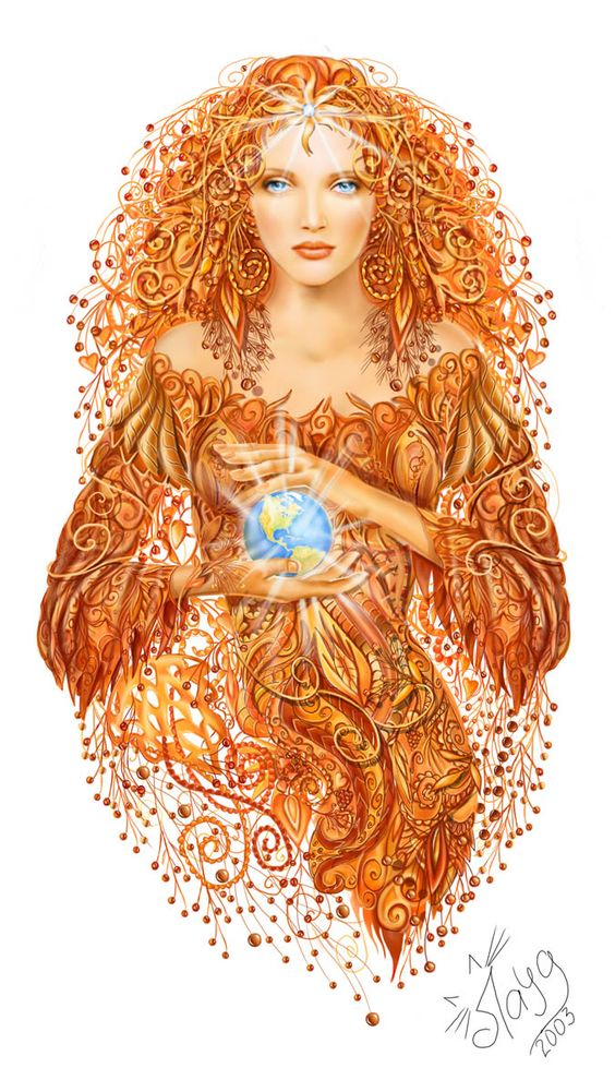 Mother Earth by layanna on deviantART: