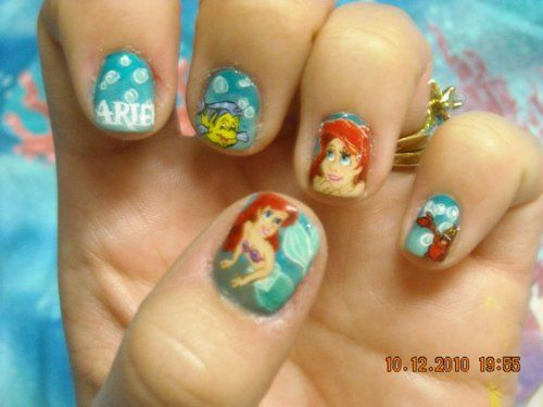 The Little Mermaid Nails