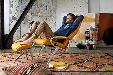 Designer-Bequemsessel | Stressless YOU James Aluminium