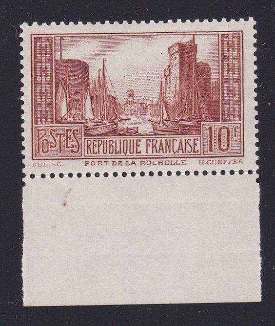 FRANCE 1929/31. N°261A 10FR CHAUDRON CLAIR NEUF X  BDF SUPERBE.  +5750€   I85