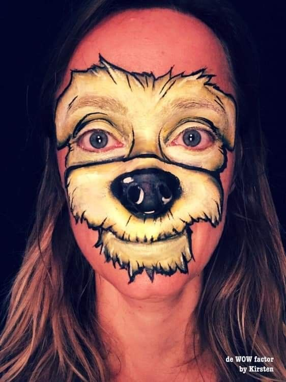 Pin By Alison Butterworth On Face Painting Ideas Dog Face Paints Painting For Kids Face Painting Easy