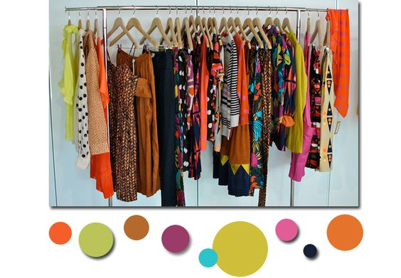 color, bubbles, prints, orange, yellow, gorman, polka dots, thecozyflare blog, Wrdrobe style