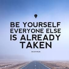 Image result for be yourself everyone else is already taken meaning