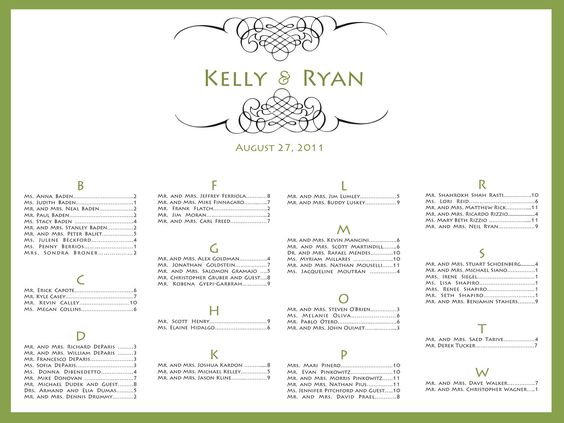 Wedding Seating Chart Printable Seating Chart Poster – Guest Seating Chart Template