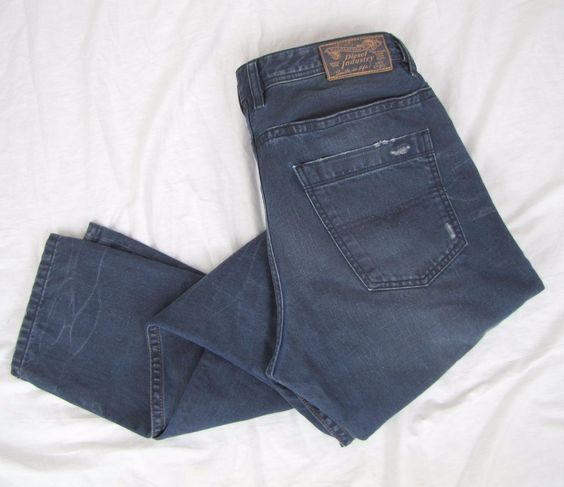 Diesel Braddom 32 x 32 Regular Slim Skinny Carrot Distressed Denim Button Fly #DIESEL #SlimSkinny