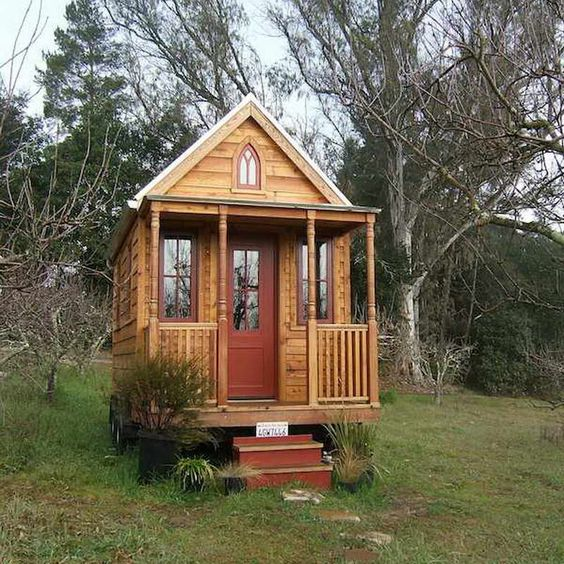 Astounding Tiny House Floor Plans With Red Door Thats What I Want A Cute Largest Home Design Picture Inspirations Pitcheantrous