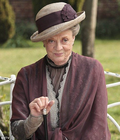 Maggie Smith won an Emmy Award for Outstanding Supporting Actress In A Drama Series in Downton Abbey! Congrats :)
