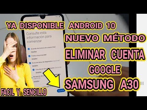 Samsung Galaxy A30 Android 10 How To Remove Google Account Remove Account Google Samsung A30 A305g Samsung Galaxy Wallpaper Android Samsung Galaxy Samsung