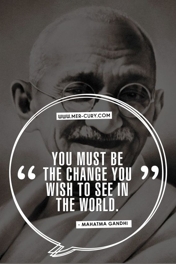 11 Mahatma Gandhi Quotes To Help You Live A More Peaceful Life: