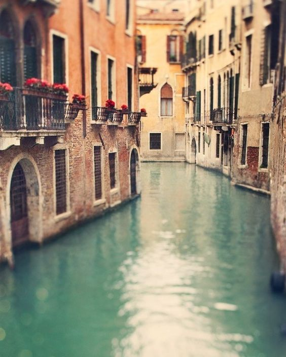 """""""Venice; to be viewed by water. You can never truly experience it unless it is by gondola along the romantic canals."""""""