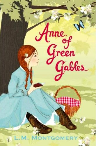 Anne of Green Gables is the best of the bunch I think. Girl's adventure story/heartache/romance. It's got it all. My best friend and I still talk about Gilbert Blythe. This was the best cover illustration I found. Most looked pretty tired. #book #romance
