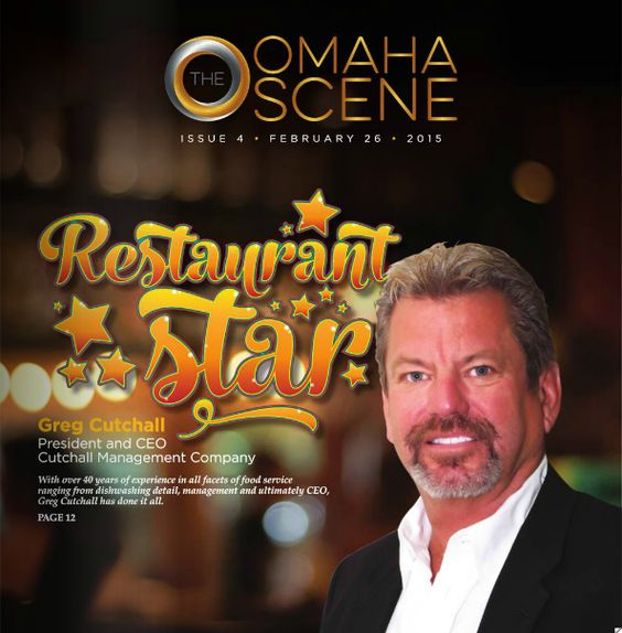 Restaurant Star Greg Cutchall President and CEO Cutchall Management Company With over 40 years of experience in all facets of food service ranging from dishwashing, detail, management and ultimately CEO, Greg Cutchall has done it all.: