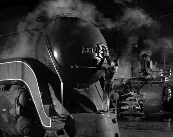 Les trains de nuit de Winston Link - La boite verte