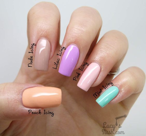Models Own Icing Collection - Review & Skittle Nail Art http://www.lucysstash.com/2015/03/models-own-icing-collection-review-skittle-nail-art.html