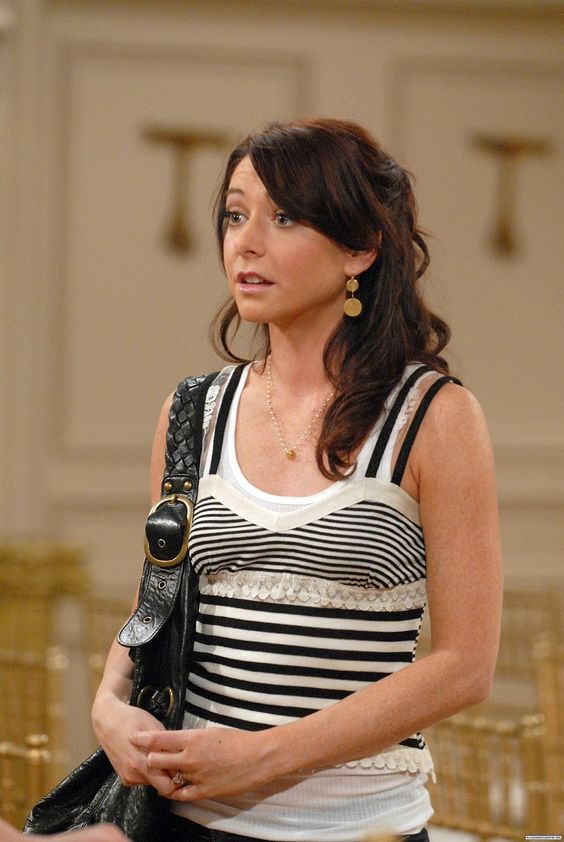 Lily Aldrin! I liked her hair in this season :)