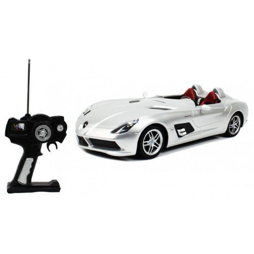 Officially Licensed Mercedes Benz #SLR #McLaren Z199 Electric #RC Car 1:12 RTR (Colors May Vary) Big Size, Authentic Body Styling  Full review at: http://toptenmusthave.com/best-rc-cars/