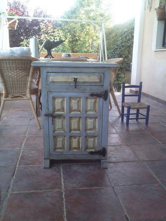 Mueble castellano chalk paint pinterest b squeda - Muebles castellanos ...